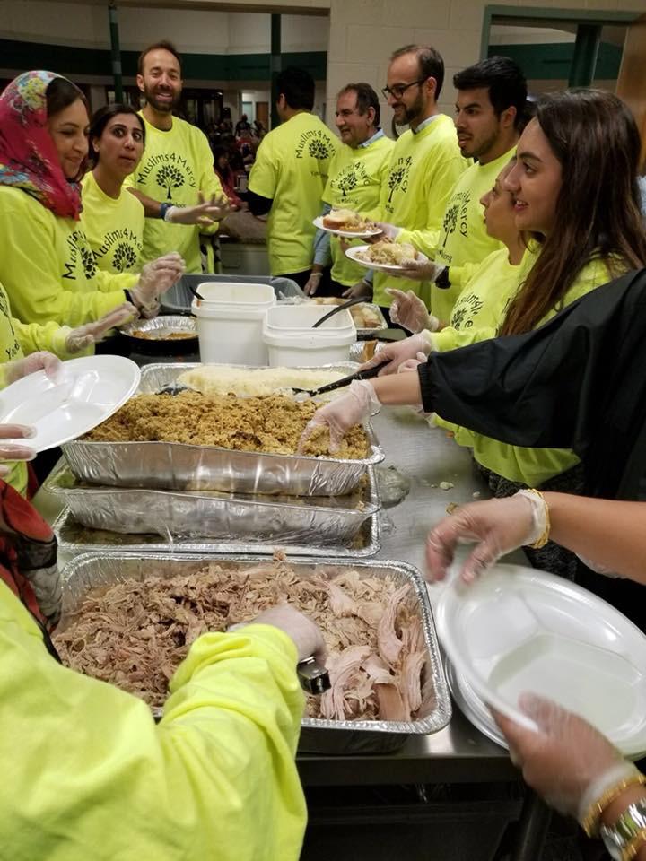 Thanks Giving Dinner - Sponsor by Malik Family