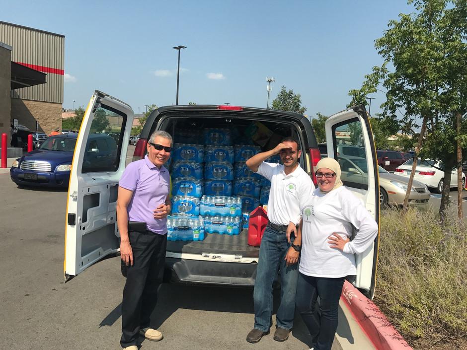 Helping Hurricane Harvey Victim