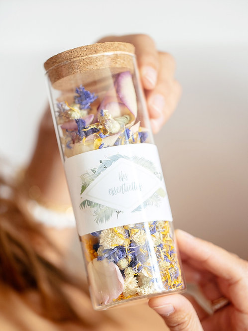 Bain de fleurs «Alix» (peau sensible)