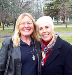 Lorraine Cilia and Mary Rodwell