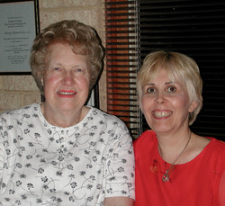 Dolores Cannon and Mary Rodwell