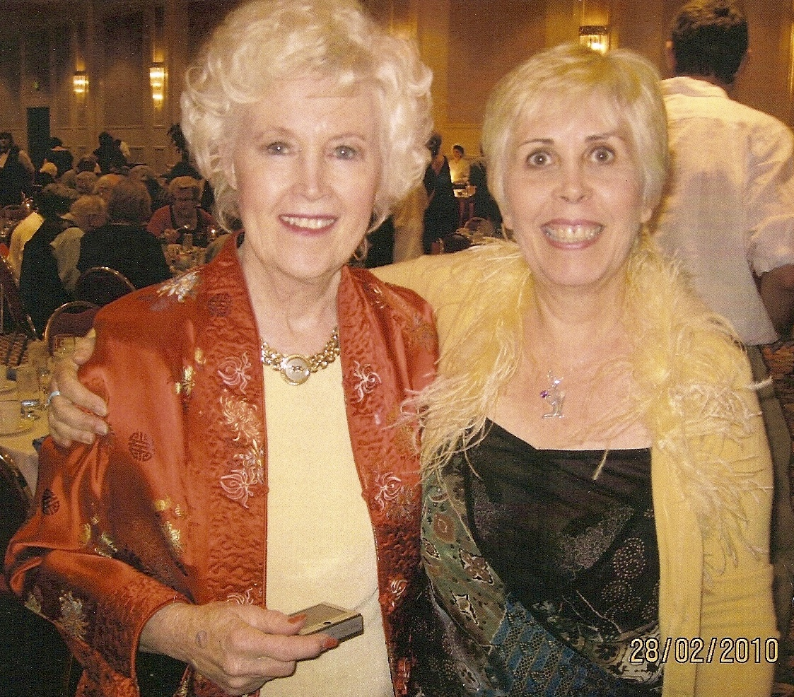 Barbara Lamb and Mary Rodwell