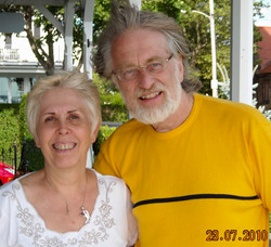 Mary Rodwell and Dr Rudy Schild