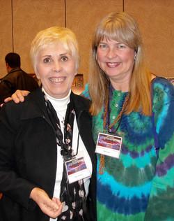 Mary Rodwell and Niara Isley