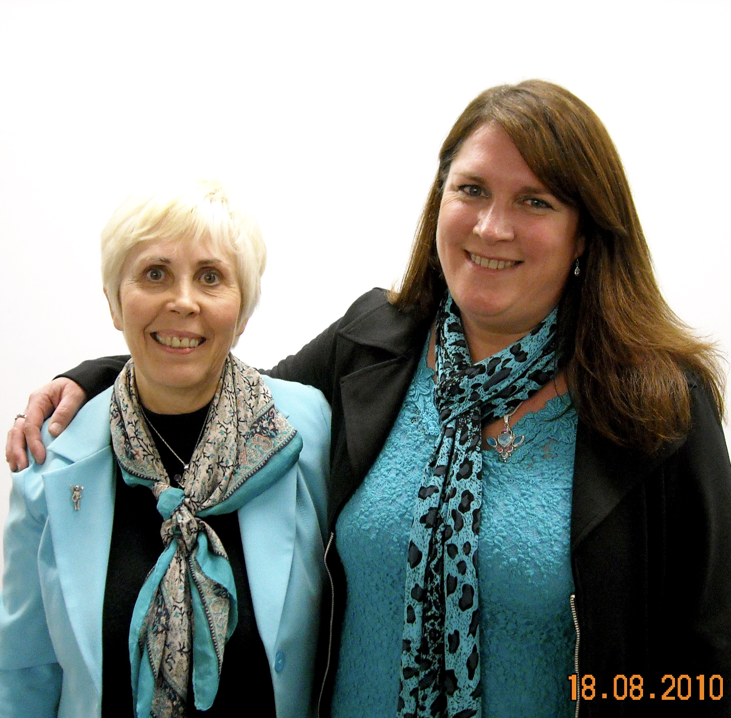 Mary Rowell and Debbie Malone