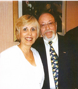 Dr Roger Leir and Mary Rodwell