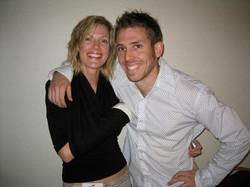 Danielle Johnson and Chris Rodwell
