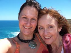 Janet Ossebaard and Karen 2005
