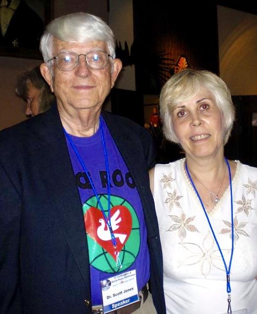 Dr Jones and Mary Rodwell