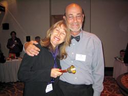 Jaquelline Zoller and Tony Hartney