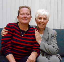 Pia Knudson and Mary Rodwell