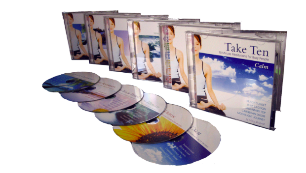 Take Ten Meditation CDs