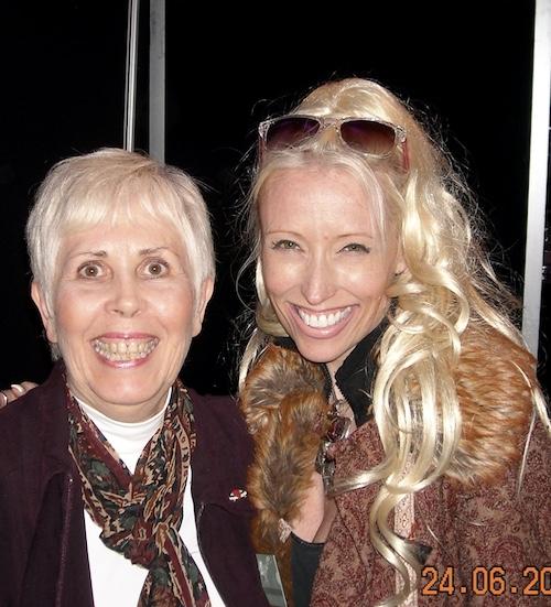 Mary Rodwell and Tonia Maddenford