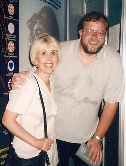Mary Rodwel and Graham Birdsall