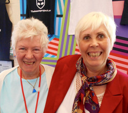 Shirley Battie and Mary Rodwell