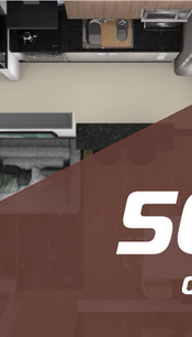 Pacote 50m²  - 6 Ambientes