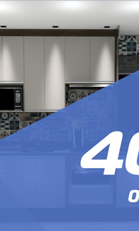 Pacote 40m²  - 6 Ambientes