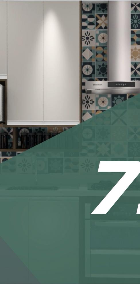 Pacote 75m²  - 9 Ambientes
