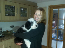 Roz with Rupert