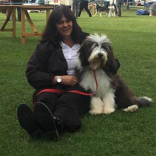 Mum and me at Darlington show