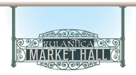 Rulantica Market Hall Signage