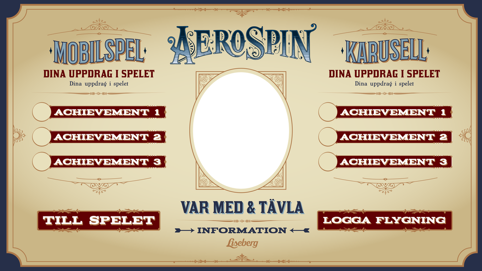 ©Liseberg // App concept // AeroSpin Logo not created by me