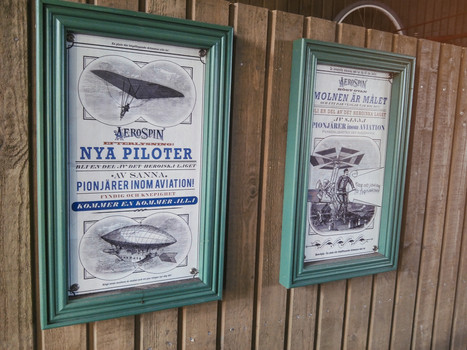 ©Liseberg // For these posters, I was responsible for the concept, layout and text. Images are sourced, and AeroSpin logo was created by a colleague.