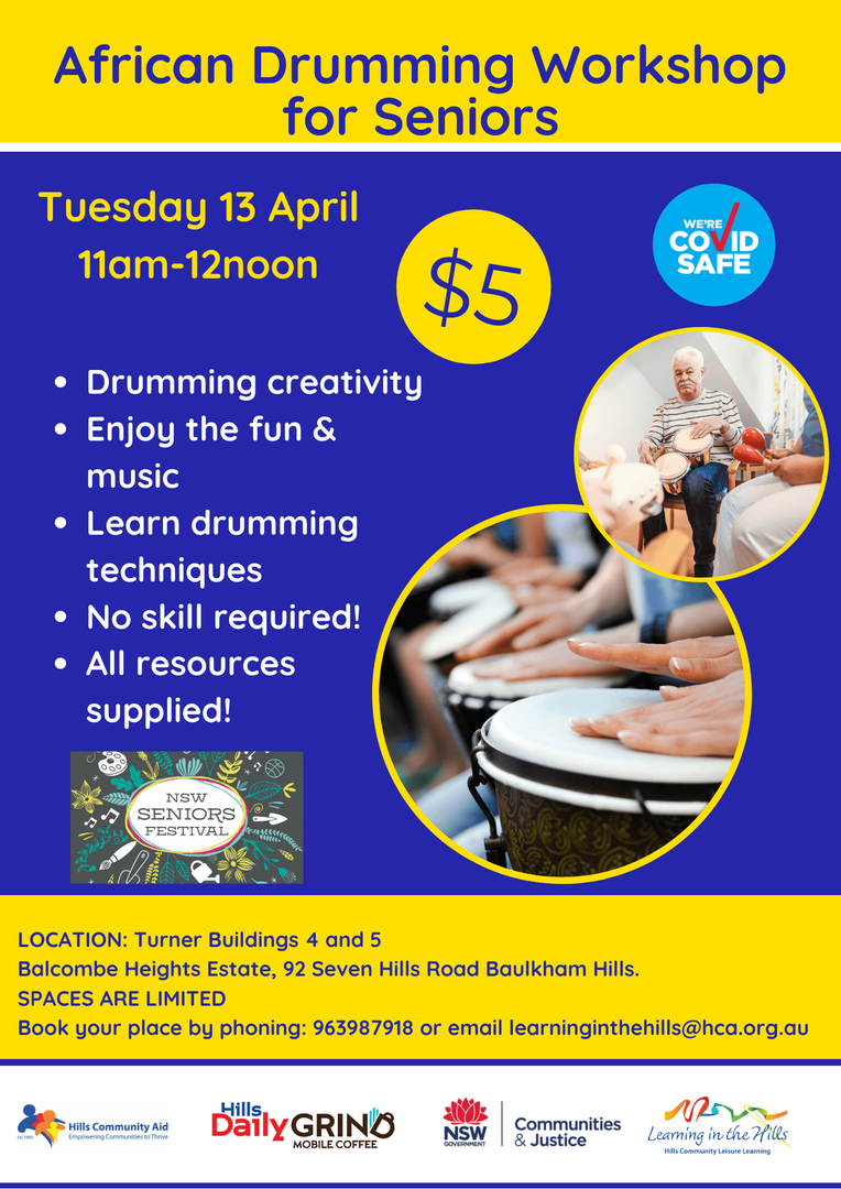 13.4 Final African Drumming Workshop for