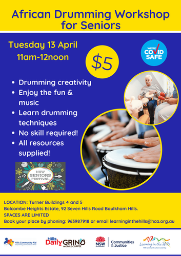 13.4 Final African Drumming Workshop for