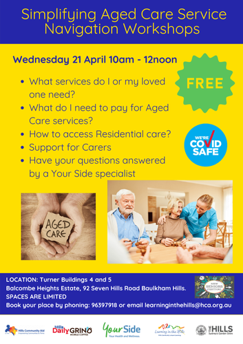 Simplifying Aged Care Service Navigation