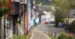 Ashburton - historical rural town on Dartmoor in Devon