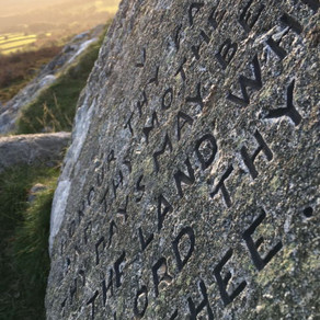 Buckland Beacon and the Ten Commandment Stones