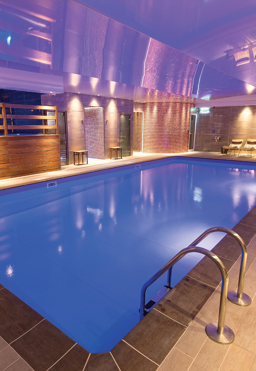 Spa Pool at the Ilsington Country House Hotel
