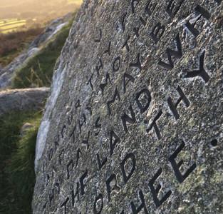 Ten Commandment Stones