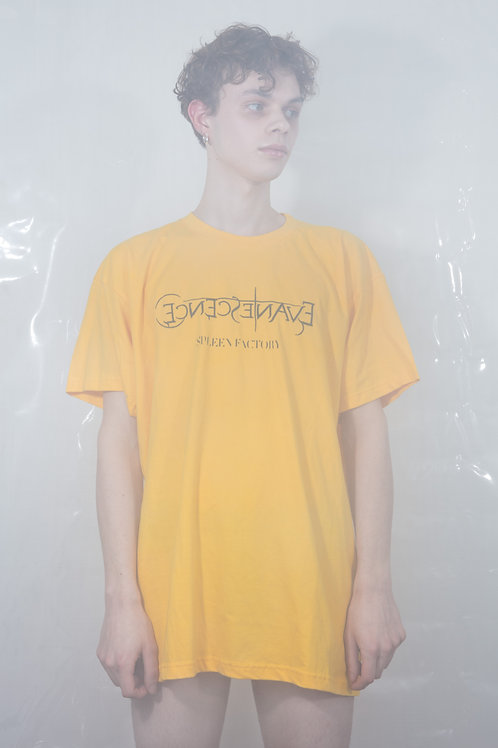 My Immortal Embroidered T-shirt - Yellow/Black