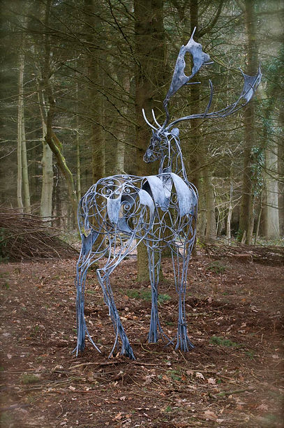 metal sculpture by artist blacksmith David Freedman