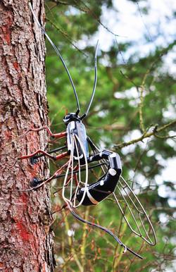 Sabre Wasp Sculpture