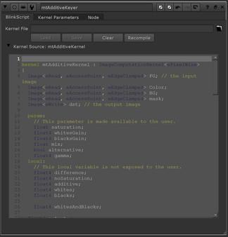 Additive Keyer BlinkScript