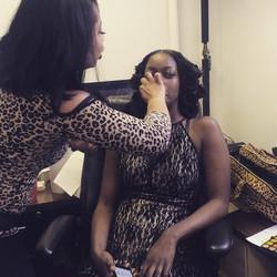 #beating#face#candid #fashion#show#hair _china_brown #makeup #makemeupjazz #cheetah#lover #mua#lips#