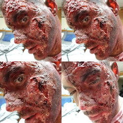 When your work last all day and night #24hrmakeup #specialeffectsmakeup #sfx #booknow #halloween #ha