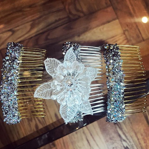 Melva Hair Comb without flower