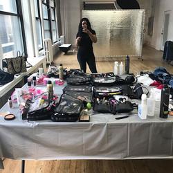 A beautiful mess #photoshooting #hair #makeup #styling #nyc #mua #lovewhatido