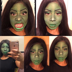 After much consideration I've decided I'm still going to do makeup for this #Halloweek #bookingsavai
