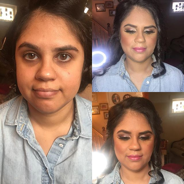 #7 of 9 gorgeous clients that I glammed