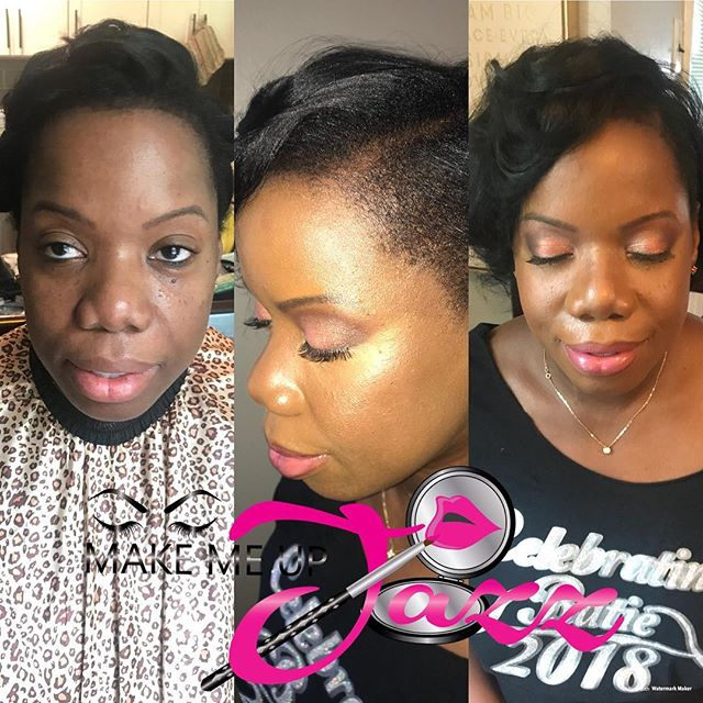 #nofilter just _ajcrimson on the skin booknow #worksmarternotharder #nycmua #bridesmaids #prom #wedd