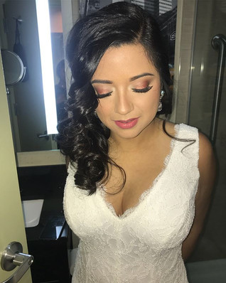 The 1st Bride of 3 bookings yesterday be
