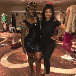 #blackexcellence me and amazing designer _fannyshousecollection #nyfw2017 #blackgirlsrock #blackgirl