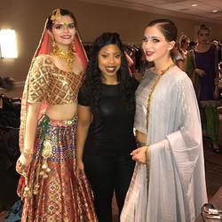 NYFW 2017 #nyfw2017 me and 2 of my models #NYC #mua #westchester #mua #hair#makeup #fashion