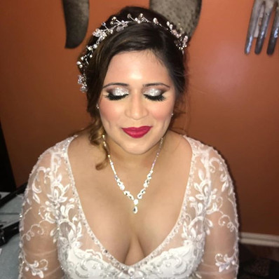 This mornings beautiful bride wanted a b