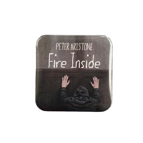 "Placka ""FIRE INSIDE"""